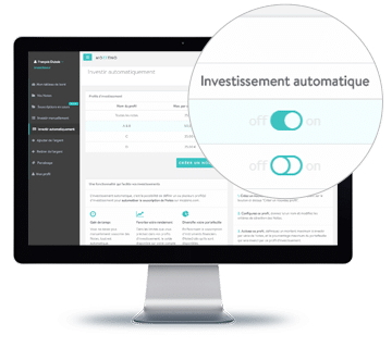 Investissement automatique