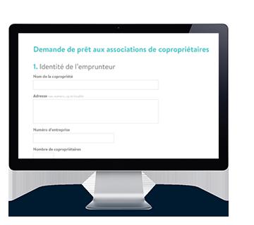 Demande de prêt aux associations de copropriétaires