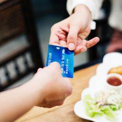 betalen met een kaart