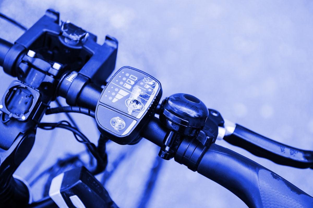 Stuur van elektrische fiets