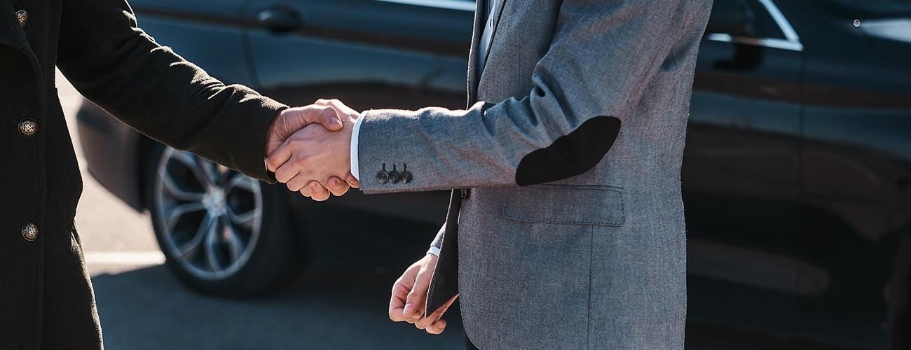 Afspraak tussen de koper en verkoper van een voertuig