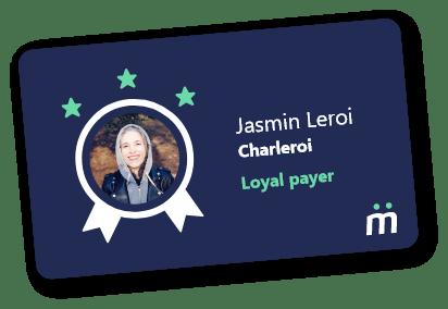 Jasmin Leroi - Charleroi Loyal payer