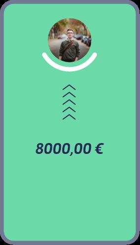 8000€